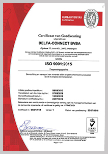 ISO9001 delta connect